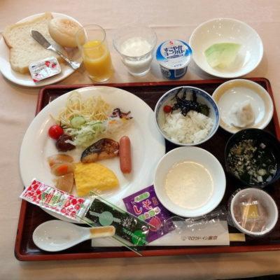 マロウドイン東京 朝食バイキング