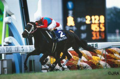 2000(平成12)年の第25回エリザベス女王杯勝ち馬ファレノプシス