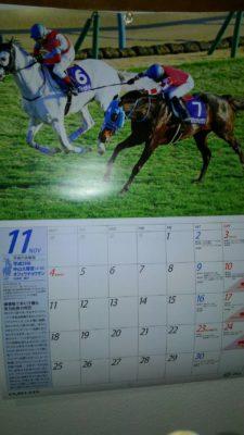 JRAカレンダー11月度